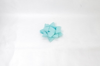 BOWS (TURQUOISE) COL 14mm BOWS (PACK 100)