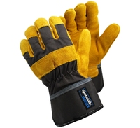 TEGERA 35 Split-Grain Cowhide Rigger Glove (Pair)