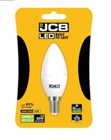 JCB 6W (40W) LED E14 CANDLE LAMP WARM WHITE 470 LUMEN