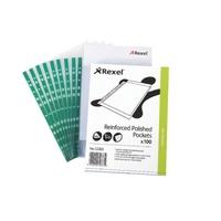 Rexel Copyking Clear Reinforced Pockets