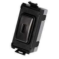 Flatplate Grid Black Nickel 2way Key Module black|LV0701.1125