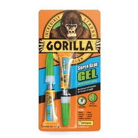 Gorilla 3gm Superglue Gel 2pk