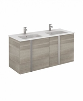 SONAS AVILA 120CM WALL HUNG VANITY UNIT SANDY GREY W1210MM X D460MM