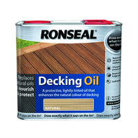 Ronseal Decking Oil 2.5L Natural