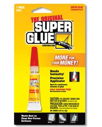 SGH2B TUBE SUPER-GLUE 3G - EA Martin & Son Ltd