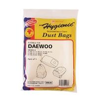 Paper Vacuum Bags Daewoo 5 Pk SDB248