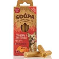 Soopa Dental Sticks - Cranberry & Sweet Potato 4-Stick 85g x 1