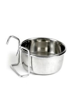 "Classic Stainless Steel Hook-On Bowl 3½"" dia. x 1"