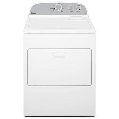 Whirlpool 15KG Dryer 6th Sense 3LWED4815FW  Atlantis American Style Commercial Vented Dryer