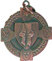 40mm Irish Dancing Medal (Bronze)