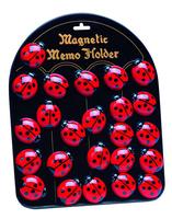 Ladybird Magnets. 24 pieces per display. Min order 1 display.