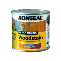Quick Drying Woodstain 250ml Natural Pine
