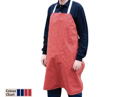 Twin Striped Butchers Apron