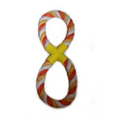Dog Life Cotton Rope Figure-of-Eight x 3
