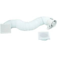 IN LINE SHOWER FAN KIT COMPLETE WITH TIMER 100MM