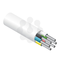 6 Core Alarm Cable White 100mtr Reel