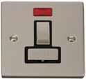 Click Litehouse DECO Fused Spur Ingot Switch Neon Black Insert
