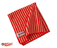 red bamboo microfiber cloth