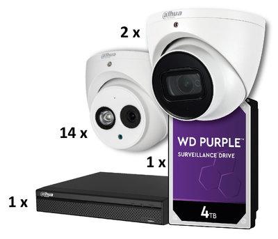 Dahua 16 Camera CCTV Kit