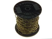 PREMIER 20 MTR 3.4 X 44 MM BRASS DECORATIVE TWIST CHAIN