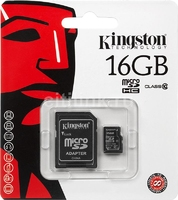 SDC10/16GB Class 10 MicroSD 16GB with adaptor