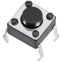 Switch | Tact Switch 6X6X4.3mm 4 Pins