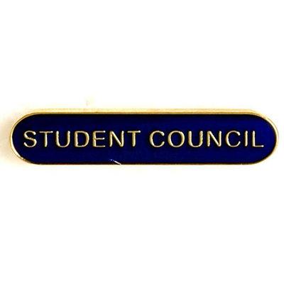 Student Council - Bar Shaped School Badge (Bl