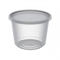 Combo MicroLite Container and Lid 16oz (473ml)