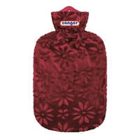 Jungle Covered 2 Litre Hot Water Bottle Blackberry