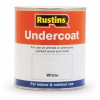 RUSTINS UNDERCOAT WHITE 250ML