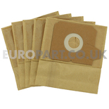 No. 259 Electrolux Boss Cylinder Series Paper Bags (Pack of 5) E51