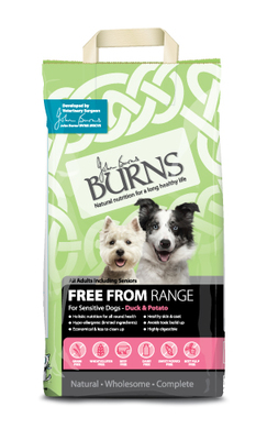 Burns 'Free From' Grain Free Adult - Duck & Potato 2kg