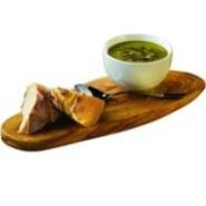 Rustic Olive Wood Platter 28 x 13cm