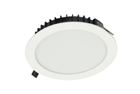 ETERNITY 25W LED downlight, IP54, 2 30mm, White, 4000K