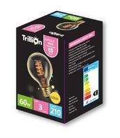 TRILLION 60W E27 GOLD GLOBE LAMP