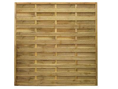 San Remo Flat Top Fence Panel