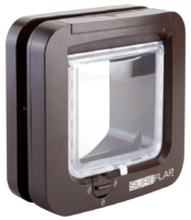 SureFlap Microchip Cat Flap - Brown x 1