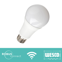 Robus 8W LED GLS Connect E27 WiFi Colour Changing