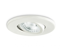 IP20 GU10 Fire Rated Downlight Adjustable White