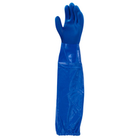 Ansell Versatouch Fish Glove, Blue