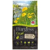 Burgess Excel Rabbit Nature's Blend Nuggets 1.5kg [Zero VAT]