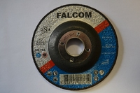 FALCOM 115x6x22MM 41/2'' STEEL DPC GRINDING DISC