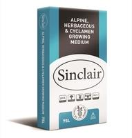 Sinclair Growing Medium Alpine, Herbaceous & Cyclamen 75lt