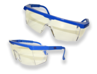 STD SAFETY SPECS BLUE FRAME