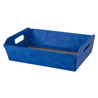 BOX TRAY 310X220X90MM RL.BLUE