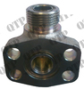 Flange Fitting Hydraulic Pump