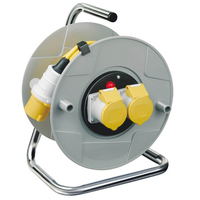 Extension Reel 110v 16a 3x1.5 25m Yellow