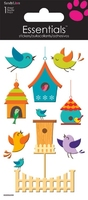 Bird Houses Essential Craft Sticker.