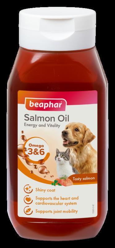 Beaphar Canac Salmon Oil 6 x 425ml