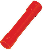 Insulated butt-connectors 0,5 - 1,0 mm², red